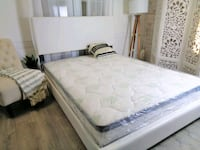 white and gray floral mattress Silver Spring, 20902