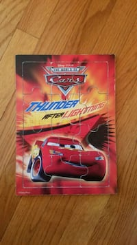 Cars, Lightening McQueen kid's puzzle 4 mi