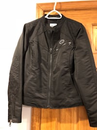 Harley Davidson Ladies Large Medium Weight Coat Port Deposit, 21904
