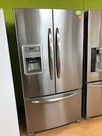 Maytag stainless steel French door refrigerator  47 km