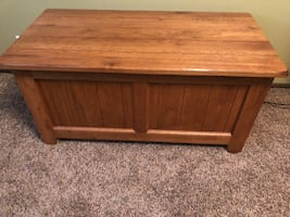 Solid Wood Storage/Toy Chest