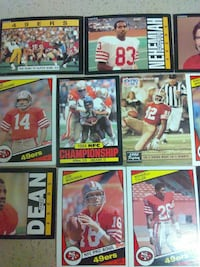assorted football trading cards Laurel, 20708