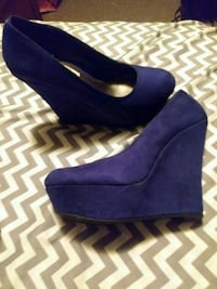 Wedge shoes excellent condition well kept  in box