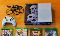 Xbox one S 1 Tb with 17 games
