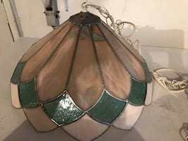 Stained Glass Tiffany Style Hanging Ceiling Light Chandelier