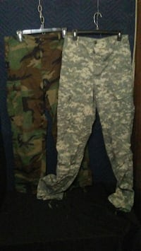 Military pants and jackets  Fort Worth, 76114