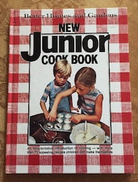 Vintage 1979 Better Homes and Gardens New Junior Hard Cover Cook Book  JOLIET