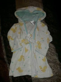 12 months; robe $3/ suit $5