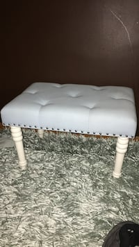 Light blue stool with silver studs  Fonthill, L0S 1E3