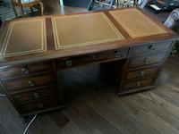 solid wood executive desk Mississauga, L4Z 3P7
