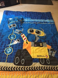 Like New Wall-E blanket and sheet set Raleigh