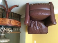 Great, high quality leather armchair Montreal