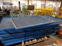Blue Metal Panel To Build A Cage Or Separation Fence 4ftx4ft - 4ftx8ft - 2ftx8ft  Montréal