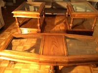 Solid wood coffee tables in excellent condition  Toronto
