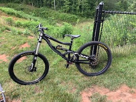 Specialized downhill bike
