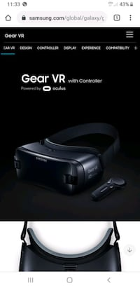 Brand New In Box Samsung Gear VR With Remote