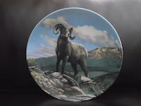 "Bradex Collectors Plate ""Bighorn Sheep"" Canada's Big Game Hanover"