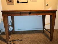 brown and black wooden desk Severn, 21144