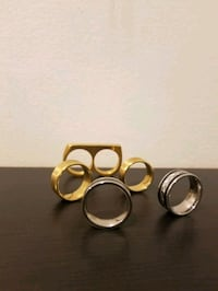 Rings for men (silver and gold in sizes 6 and 7) Mississauga, L5W 1V7