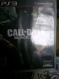 Call of Duty Black Ops PS3 game case Hampstead, 28443