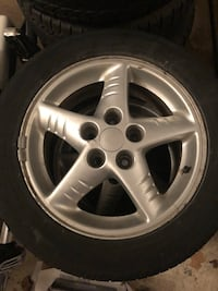 3 Pontiac Rims and tires  Burlington, L7M 4N6