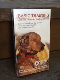 Basic Training With The Tri-Tronics Electronic Collar - VHS Tape - Brand New Chicago, 60622