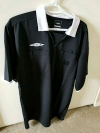 Men's XL soccer referee shirt/flags Maple Ridge, V2X