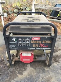Coleman generator 4000 er plus ( just used on last storm ) $150 for quick sale