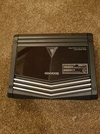 black Kenwood car amplifier Calgary