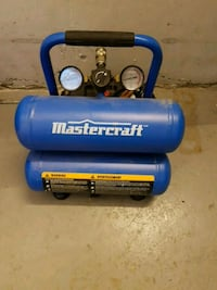 blue and black Campbell Hausfeld air compressor North York, M2N