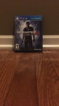 Sony PS4 Uncharted 4 game case Cottage Grove, 55016