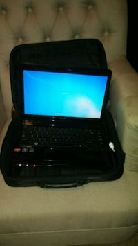 black laptop computer with bag Griffin, 30223