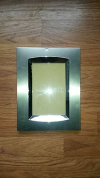 "Silver 4""x6"" Photo Frame Washington"