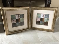 Two brown wooden photo frames Washingtonville, 10992