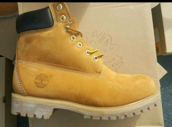 Double sole Timberlands