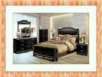 11pc Ashley bedroom set free delivery  Gaithersburg