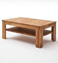 Coffee Table,Side Table Solid Wilk Oak Oiled 7352 km