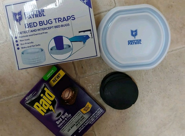 4 Bedbug traps and 8 bed bug barriers  NEW boxes