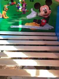 Mickey Mouse Toddler bed with mattress Hagerstown
