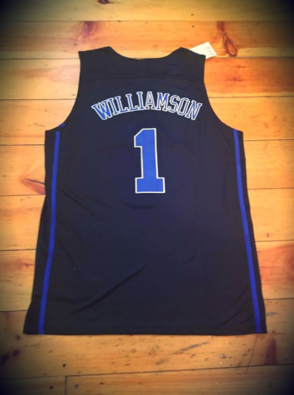 04a579418dd Used ROOKIE COLLEGE JERSEY! ZION WILLIAMSON DUKE  1- MEDIUM- NIKE ...