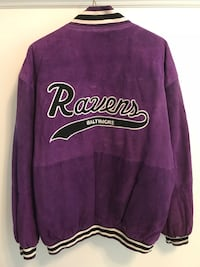 Adult size M ravens coat never worn firm price Hampstead, 21074