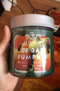 Two Cedar Pumpkin Scented candles Chicago, 60602