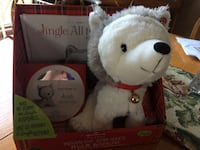 Hallmark jingle interactive plush toy, new in package