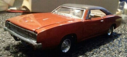 New Franklin Mint 1968 CHARGER R/T Car