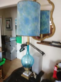Vintage and very large set of table lamps