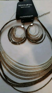 Fashion beaded necklace and earrings  Rio Rancho, 87124