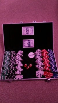 Poker rug briefcase Greater Manchester, M7 1UE