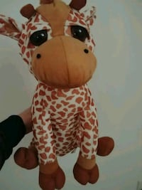 brown and white animal plush toy Brampton, L7A 3K2