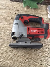 white and black Milwaukee cordless power tool Westchester, 60154