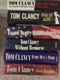 Tom Clancy First Editions Altadena